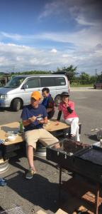 田上産業BBQ大会開催